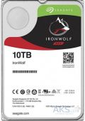 Жесткий диск Seagate IronWolf NAS 10TB 7200rpm 256MB (ST10000VN0008)