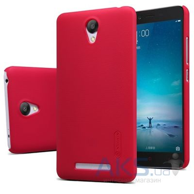 Чехол Nillkin Super Frosted Shield Xiaomi Redmi Note 2 Red