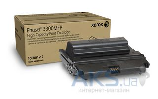 Картридж Xerox Phaser 3300(max) (106R01412) Black