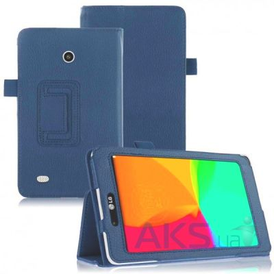 Чехол для планшета TTX Leatherette case for LG V400 G Pad 7.0 Blue