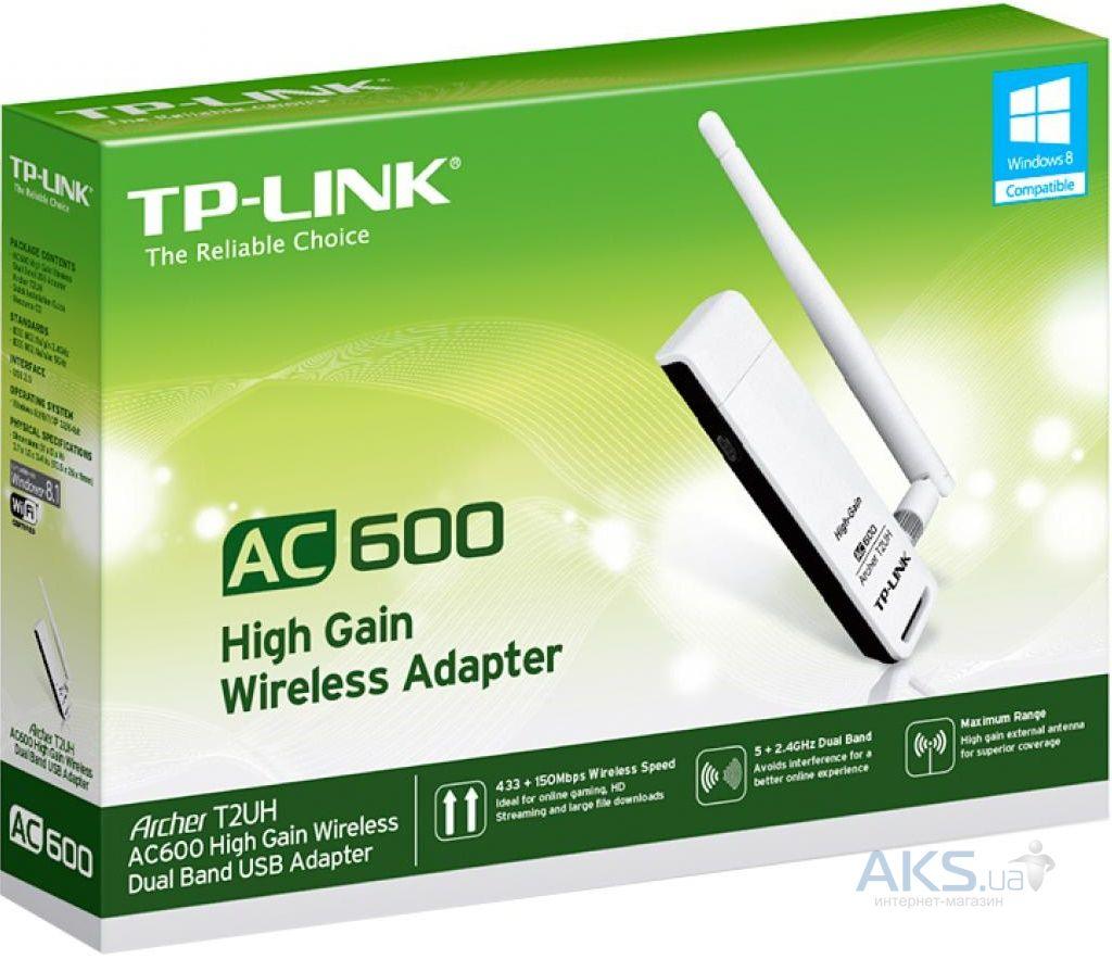 Адаптер TP-LINK  Archer T9UH AC1900 Двухдиапазонный Wi-Fi USB-адаптер высокого усиления