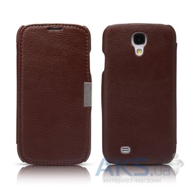 Чехол iCarer Side-open Business for Samsung Galaxy S4 Brown