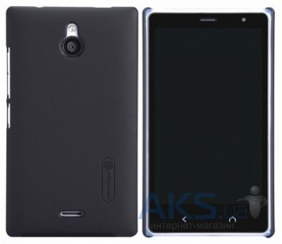 Чехол Nillkin Super Frosted Shield Nokia X2 Black