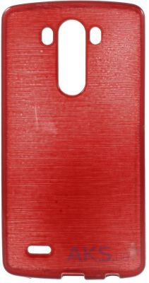 Чехол Original TPU Pearl Lines LG Optimus G3 D850, D855, D856 Red