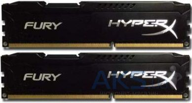Оперативная память Kingston DDR-3 16GB (2x8GB) 1866 MHz HyperX FURY Black (HX318C10FBK2/16)