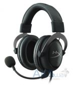 Наушники (гарнитура) Kingston HyperX Cloud II Gaming Headset Gun Metal Black
