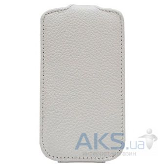 Чехол Melkco Jacka leather case for Samsung S6102 Galaxy Y DuoS White (SS6102LCJT1WELC)