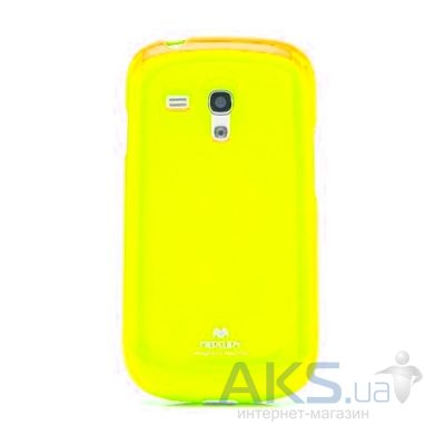 Чехол Mercury Jelly Color Series Samsung G920F Galaxy S6 Yellow