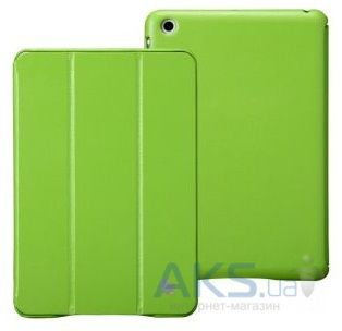 Чехол для планшета JisonCase Executive Smart Case for iPad mini 2 Green (JS-IM2-01H70)