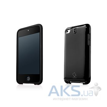 Чехoл Capdase Polimor Protective Case Polishe Black/Black for iPod touch 4G