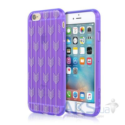 Чехол Incipio Design Series Apple iPhone 6, iPhone 6s Arrow Purple (IPH-1378-PUR-INTL)