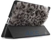 Чехол для планшета ION Fur Cover Grey Leopard for iPad 2 (i033-FUR027) (i033-FUR027)