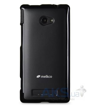 Чехол Melkco Poly Jacket TPU cover for HTC 8X Accord C620e Black (O2WP8XTULT2BKMT)
