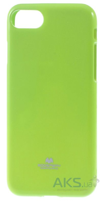 Чехол Mercury Jelly Color Series Apple iPhone 7 Lime