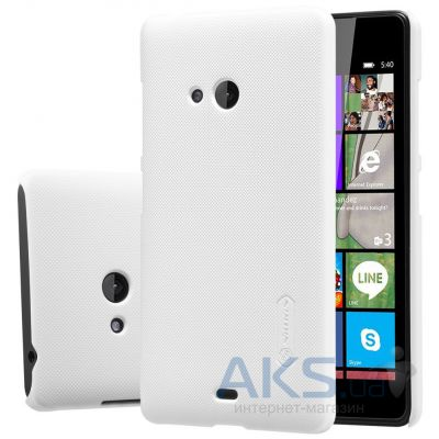 Чехол Nillkin Super Frosted Shield Microsoft Lumia 540 White