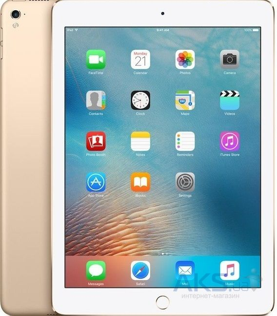 Планшет Apple iPad Pro 12.9 Wi-Fi 4G 128GB (ML3Q2, ML2K2) Gold