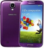 Дисплей (экраны) для телефона Samsung Galaxy S4 I9500 + Touchscreen with frame Original Purple