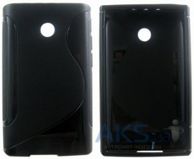 Чехол Original TPU Duotone LG Optimus L3 E400 Black