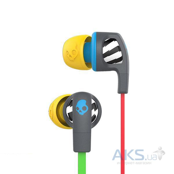 Наушники (гарнитура) Skullcandy Smokin Bud 2 Local only/Gray/Blue (S2PGHY-478)