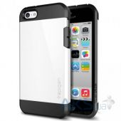 Чехол SGP Case Tough Armor Series for iPhone 5C Infinity White (SGP10509)
