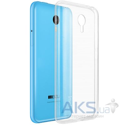 Чехол Original TPU Ultra Thin Meizu M2 Note Transparent