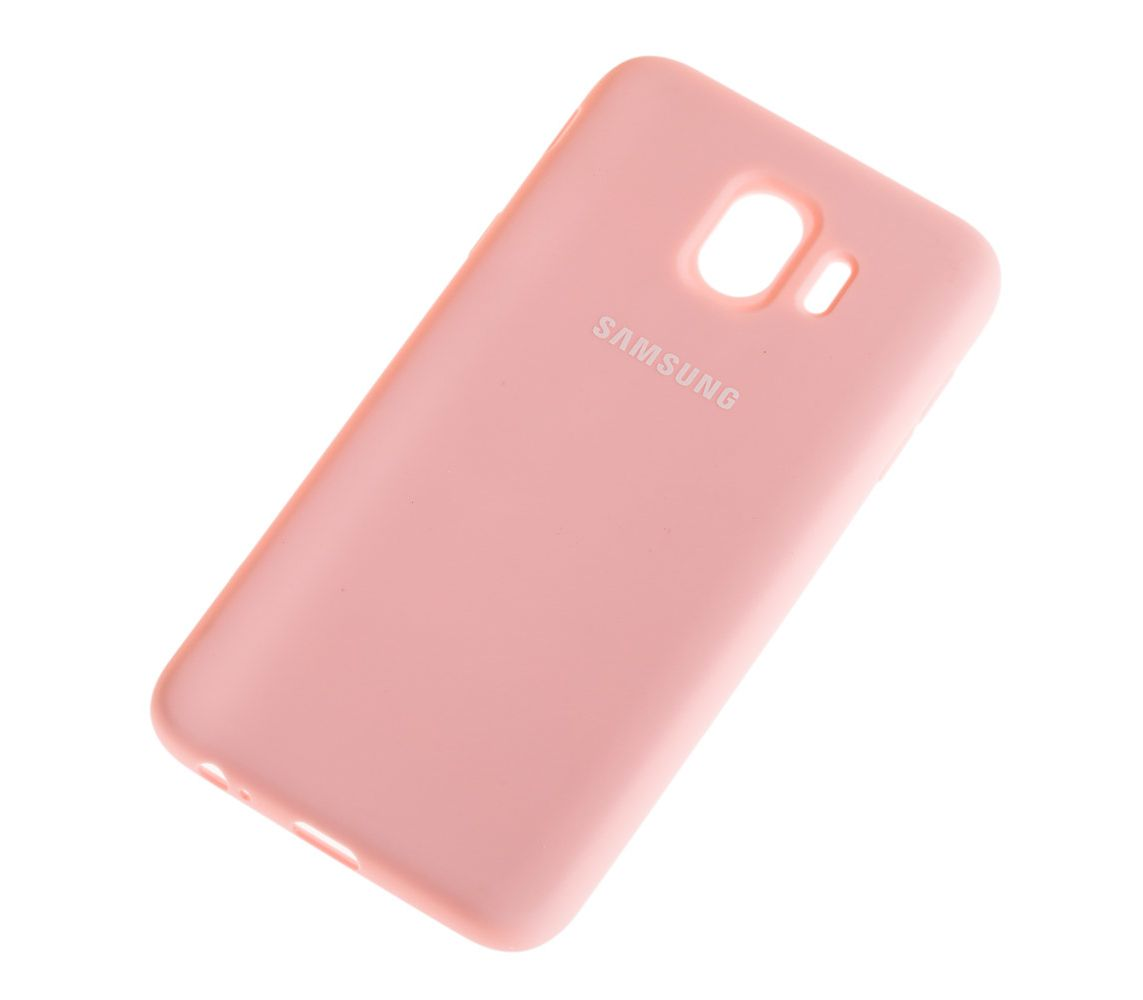 Чехол 1TOUCH silicone case Samsung J400 Galaxy J4 2018 Pink