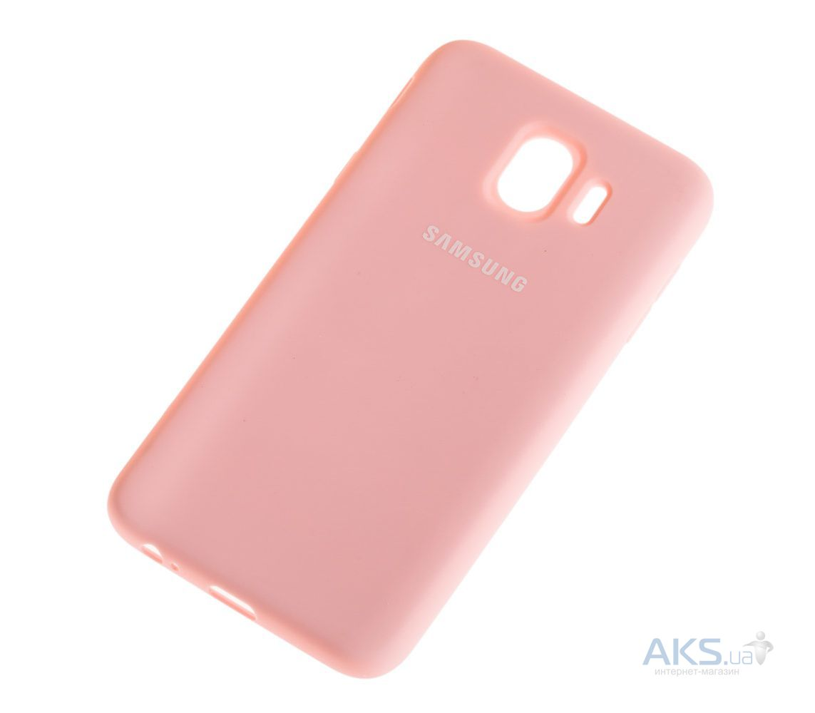 Чехол 1TOUCH silicone case Samsung J400 Galaxy J4 2018 Pink - фото 2