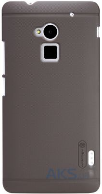 Чехол Nillkin Super Frosted Shield HTC One Max Brown