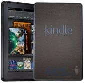 3ащитныя плeнкa SGP Premium Protective Cover Skin Leather Deep  Amazon Kindle Fire Brown (SGP08492)