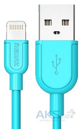 Кабель USB REMAX Souffle Lightning Cable Blue (RC-031i)