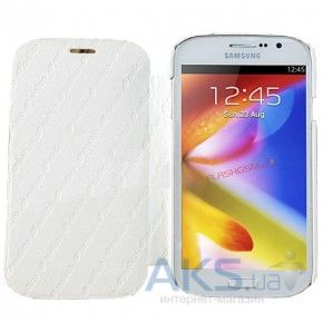 Чехол Melkco Book leather case for Samsung i9080 Galaxy Grand/i9082 Grand Duos White (SSGD82LCFB2WELC)