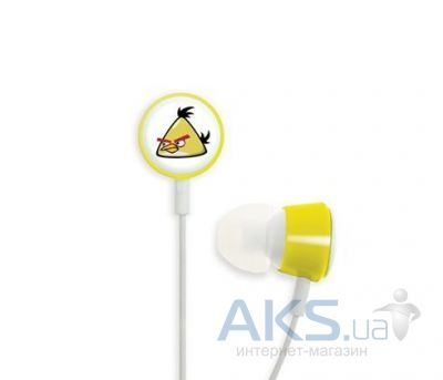 Наушники (гарнитура) Gear4 Gear4 Angry Birds Stereo HeadphonesTweeters Yellow Bird for iPad/iPhone/iPod