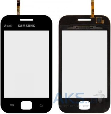 Сенсор (тачскрин) для Samsung Galaxy Ace Duos S6352, Galaxy Ace Duos S6802 Black