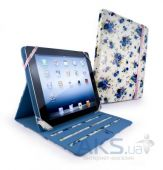 Чехол для планшета Tuff-Luv Slim-Stand fabric case cover for iPad 2,3,4 White (B2_35)