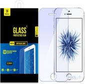 Защитное стекло Baseus Glass Anti Blue Light 0.2 mm Apple iPhone 5, iPhone 5S, iPhone SE (SGAPIPHSE-THES)