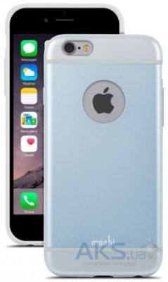 Чехол Moshi iGlaze Slim Hard Shell Case for iPhone 6/6S Arctic Blue (99MO079501)