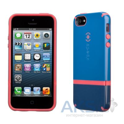 Чехол Speck CandyShell Flip Apple iPhone 5, iPhone 5S, iPhone 5SE Harbor Blue/Dark Harbor Blue/Coral Pink (SPK-A1577)