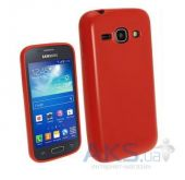Чехол Celebrity TPU cover case for Samsung  S7270 Galaxy Ace 3 Red