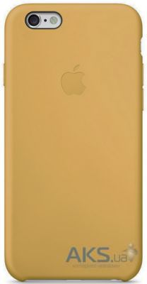 Apple Copy Leather Case iPhone 6, iPhone 6S Gold
