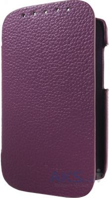 Чехол Melkco Book leather case for HTC Desire SV Purple (O2DSSVLCFB2PELC)