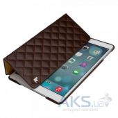 Вид 2 - Чехол для планшета JisonCase Microfiber quilted leather case for iPad Air Brown  [JS-ID5-02H20	]