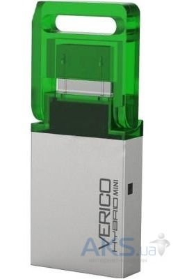 Флешка Verico USB 32Gb Hybrid Mini Green