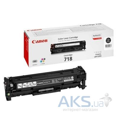 Картридж Canon 718 LBP-7200/MF-8330/8350 (2662B002) black