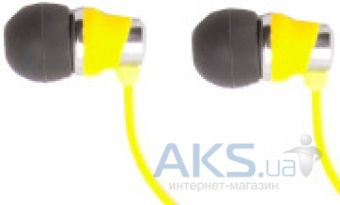 Наушники (гарнитура) Griffin EARBUDS - BOLTS TALK Yellow