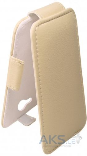 Чехол Sirius flip case for Fly IQ451 Quattro Vista Beige