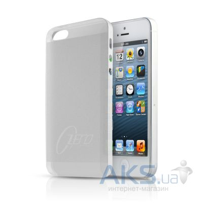 Чехол ITSkins Zero.3 cover case for iPhone 5 White (APH5 ZERO3 WITE)