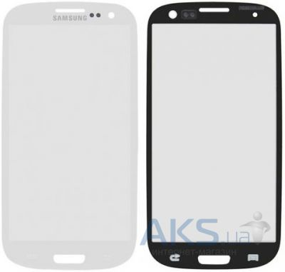 Стекло для Samsung Galaxy S3 I9300, I9305 Original White