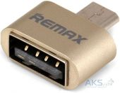 Micro usb - OTG кабель REMAX Gold (RA-OTG)