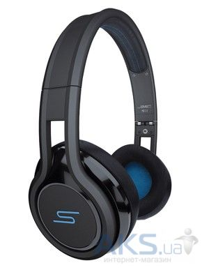 Наушники (гарнитура) SMS-Audio STREET by 50 Wired On Ear Headphones Black