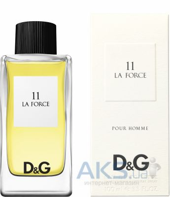 Dolce&Gabbana Anthology La Force №11 Туалетная вода 50 ml